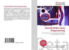 Copertina di Second-Order Cone Programming