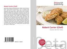 Buchcover von Robert Carrier (Chef)