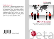 Bookcover of Market Research