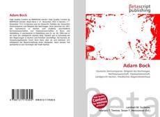 Couverture de Adam Bock