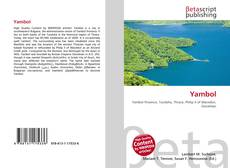 Bookcover of Yambol
