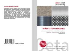 Bookcover of Indentation Hardness