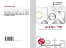 Bookcover of Conditional Proof