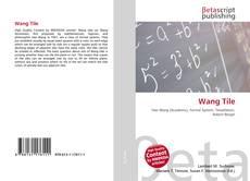 Capa do livro de Wang Tile