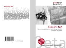 Bookcover of Valentino SpA