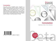 Bookcover of Connotation