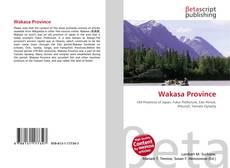 Couverture de Wakasa Province