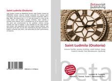 Saint Ludmila (Oratorio) kitap kapağı