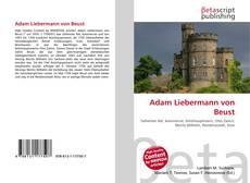 Обложка Adam Liebermann von Beust