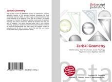 Bookcover of Zariski Geometry