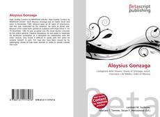 Aloysius Gonzaga kitap kapağı