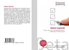 Bookcover of Adam Lipinski