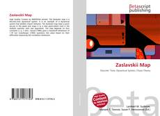Bookcover of Zaslavskii Map