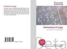 Bookcover of Definitions of Logic