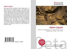 Bookcover of Adam Liquier