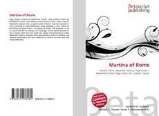 Martina of Rome的封面