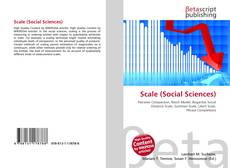Bookcover of Scale (Social Sciences)