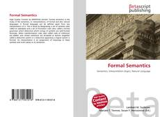 Bookcover of Formal Semantics