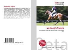 Couverture de Vosburgh Stakes