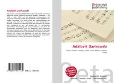 Portada del libro de Adalbert Dankowski