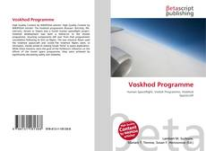 Bookcover of Voskhod Programme