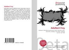 Bookcover of Adalbert Frey