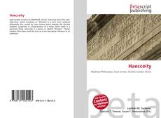 Bookcover of Haecceity