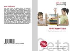 Couverture de Weil Restriction