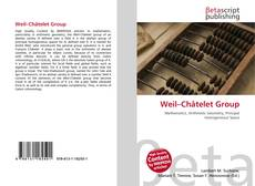 Bookcover of Weil–Châtelet Group