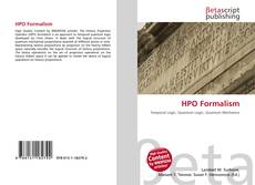 Bookcover of HPO Formalism