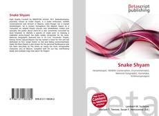 Snake Shyam kitap kapağı