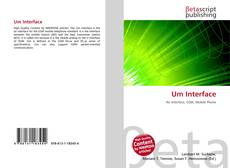 Bookcover of Um Interface