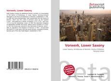 Bookcover of Vorwerk, Lower Saxony
