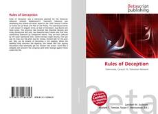 Bookcover of Rules of Deception