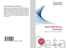 Copertina di Rack (Web Server Interface)