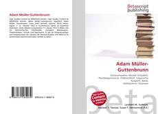 Buchcover von Adam Müller-Guttenbrunn
