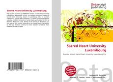 Bookcover of Sacred Heart University Luxembourg