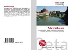 Bookcover of Adam Nabinger