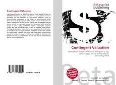 Bookcover of Contingent Valuation