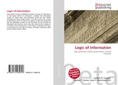 Bookcover of Logic of Information