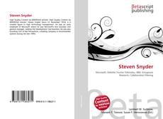 Bookcover of Steven Snyder