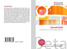 Bookcover of Sacred Oath