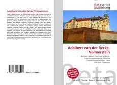 Bookcover of Adalbert von der Recke-Volmerstein