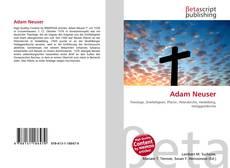 Buchcover von Adam Neuser