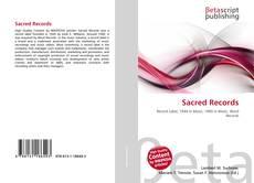 Sacred Records kitap kapağı