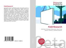 Bookcover of Field Research