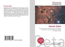 Couverture de Steven Soter