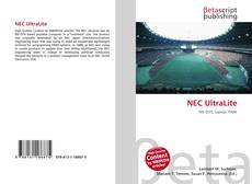 Bookcover of NEC UltraLite