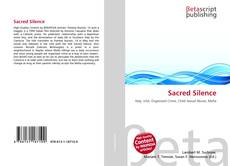 Bookcover of Sacred Silence