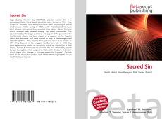 Bookcover of Sacred Sin